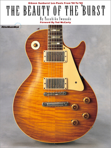 THE BEAUTY OF THE  BURST REPRINTED EDITION(特製ポスター付き) Gibson Sunburst Les Pauls From  58 To  60