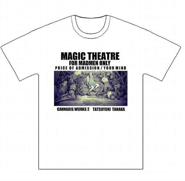 田中達之 CANNABIS WORKS 2 Tシャツ(Mサイズ)